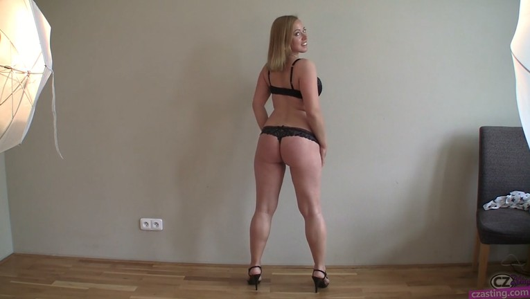 Man fucks milf blonde big ass casting