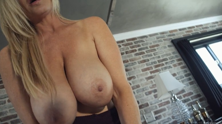 Busty mom gets fucked at home POV