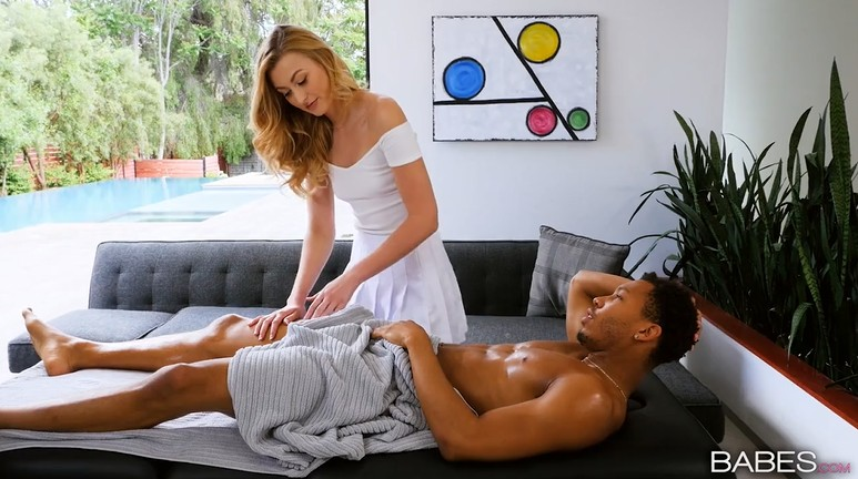 Black guy used the services of a masseuse