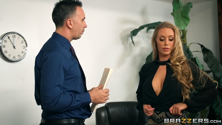 The boss fucked a gorgeous lady Nicole Aniston